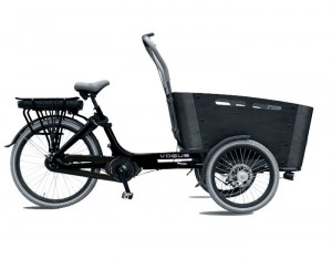 VOGUE E-BIKE BAKFIETS CARRY 7 NEXUS Rollerbrake MATT-BLACKGREY_1